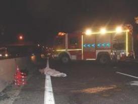 Un muerto y cuatro heridos en dos accidentes en la A-2
