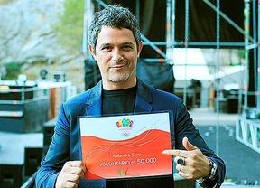 Alejandro Sanz, voluntario 50.000 de Madrid 2020