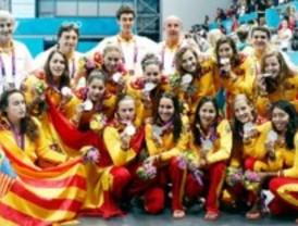 El waterpolo español femenino se queda a las puertas del oro