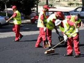 Madrid invierte 1,9 millones para pavimentar la ciudad en verano