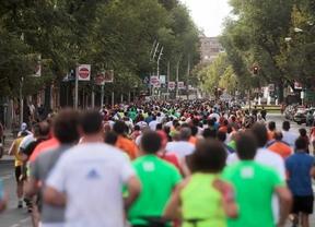 2500 atletas recorren el Madrid Río en la Melonera