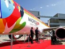 Iberia ya tiene preparado el avión que llevará a Madrid 2016 a Copenhague