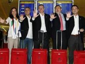 La delegación olímpica viaja a Copenhague