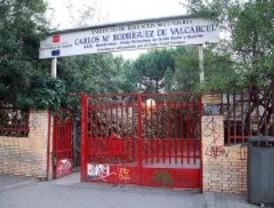 Las obras llegan al Rodríguez Valcárcel de Moratalaz seis meses después