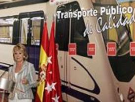 Aguirre afirma que la ampliación del transporte beneficiará a 800.000 madrileños