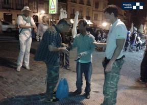 La Policía confisca 6.480 latas en la segunda operación contra 'lateros'