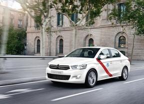 El Citroën C-Elysée de gas estará homologado para taxi en 2015