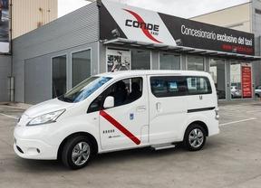 Nissan LEAF, el primer eléctrico homologado como taxi en Madrid