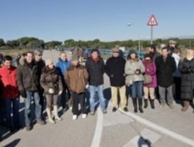 Los vecinos exigen que se retire el vallado del Monte de Pozuelo
