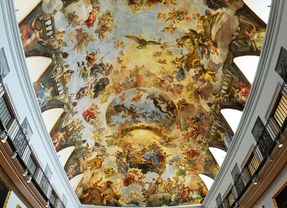 El Casón del Retiro: la sala napolitana que se salvó por su bóveda