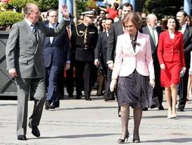 Los Reyes presiden el Bicentenario del 2 de Mayo