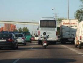 Varios accidentes dificultan la circulación en las carreteras