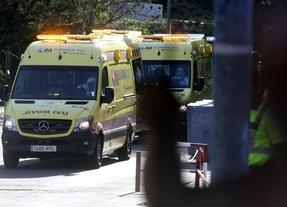 Llegada de Miguel Pajares y Juliana Bohona al hospital Carlos III (7 de agosto)