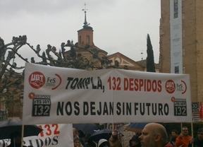 Huelga indefinida en Tompla por los despidos