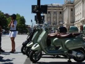 Madrid en vespa