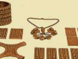Una cuidada selección de los tesoros de la orfebreria antigua