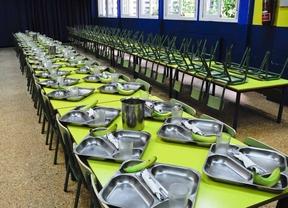 La comunidad realiza el primer abono de precios reducidos y exenciones del pago del comedor escolar