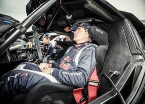 Carlos Sainz, octavo en la primera etapa del Dakar