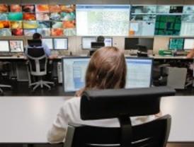 El Centro de Control de Azca vigila alumbrado, túneles y galerías de Madrid