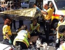 Herido muy grave un motorista que chocó con un todoterreno, en Madrid
