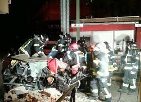 Accidente mortal en la avenida Pío XII