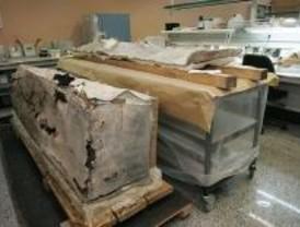 Restaurados los sarcófagos romanos de Arroyomolinos