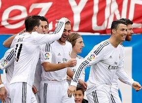 Cristiano salva el liderato del Real Madrid ante un aguerrido Atleti