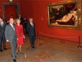 Los Reyes inauguran las 'Fábulas de Velázquez. Mitología e historia sagrada del Siglo de Oro'