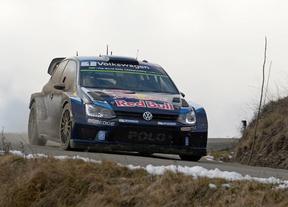 Sebastian Ogier con VW Polo listo para adjudicarse el Montecarlo