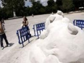 Los madrileños podrán disfrutar de dos días más de playa en el Retiro