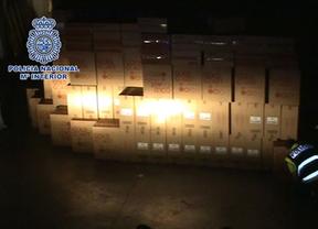 La Policía recupera 420.000 cajetillas de tabaco robadas
