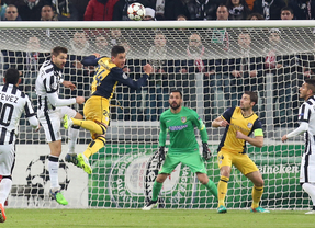 Atlético de Madrid-Juventus en Turín