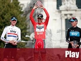 Juan José Cobo se proclama campeón de la Vuelta a España en Madrid