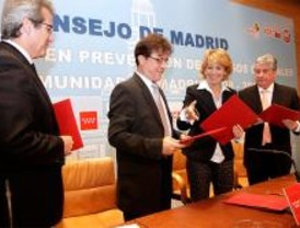 La Comunidad y agentes sociales firman un Plan de Prevención de Riesgos Laborales