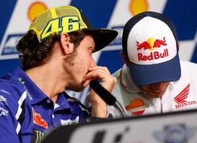 Rossi y Márquez opinan sobre los títulos de Moto2 y Moto3