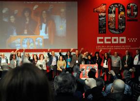 Congreso de CCOO en Madrid (archivo)