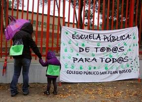 Madrid secunda la huelga contra la LOMCE