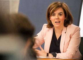 Soraya Saenz de Santamaria vicepresidenta del Gobierno.