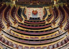 Congreso de los Diputados, vista del hemiciclo