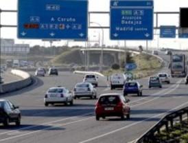 Un accidente colapsa el tráfico en la M-50