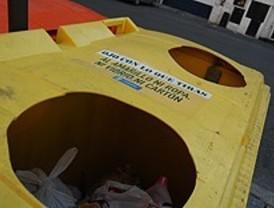 Los envases se recogerán tres veces por semana desde el lunes en todo Madrid