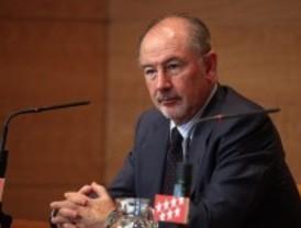 Rato anuncia que el banco que poseen Caja Madrid y Mapfre se integrará en Bankia