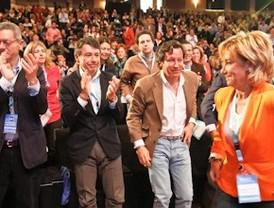 Los 'populares' madrileños refrendan el poder de Aguirre con el 97,2% de los votos