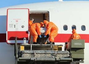 El primer vuelo directo de Nigeria llega a Madrid tras pasar los controles sanitarios oportunos