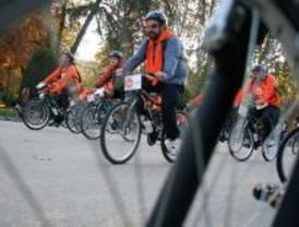 Más de 5.000 ciclistas recorren el centro de Madrid