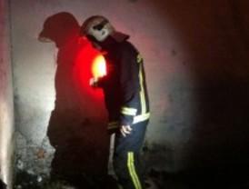 Un incendio arrasa un piso en Guadarrama