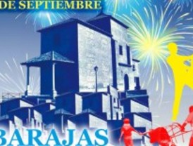 Juan Peña y Alameda Dosoulna en las fiestas de Barajas