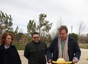 Soler inaugura la ampliación del parque Castilla La Mancha