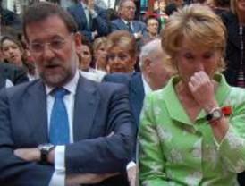 Rajoy contará con Aguirre en su equipo