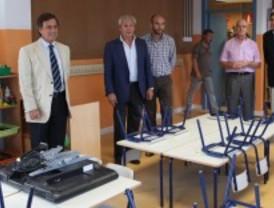 Alcobendas ha invertido este verano dos millones de euros en reformas en cinco colegios públicos